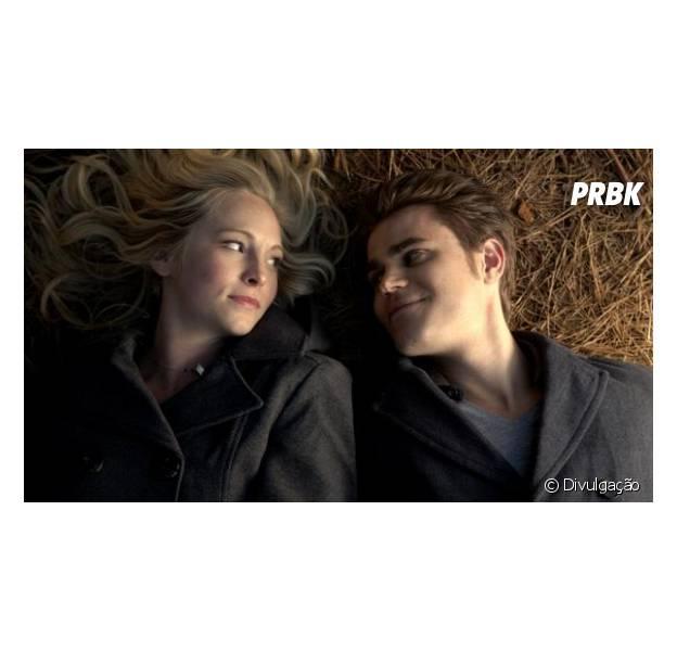 """Em """"The Vampire Diaries"""": Candice Accola e Paul Wesley falam sobre o futuro de Caroline e Stefan!"""