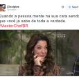 """Essa expressão da Ana Paula Padrão, do """"MasterChef Brasil"""", fez a apresentadora liderar no número de memes no Twitter"""