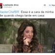 """O pessoal não perdoou a cara da Ana Paula Padrão no último episódio exibido do """"MasterChef Brasil"""", da Band"""