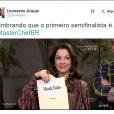 """E aí, você mandaria nudes para aAna Paula Padrão, do """"MasterChef Brasil""""?"""