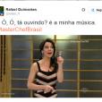 """Assim como a Ana Paula Padrão, do """"MasterChef Brasil"""", você também deve ter seu som na balada!"""
