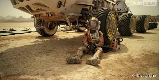 """""""Perdido em Marte"""" é o grande líder de bilheteria da semana"""