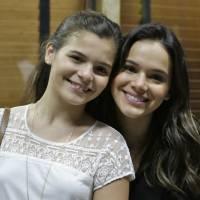 """Bruna Marquezine elogia a irmã, Luana, às vésperas da """"Dancinha dos Famosos 2015"""": """"Linda"""""""