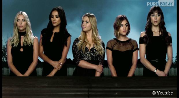 """Em """"Pretty Little Liars"""": na 6ª temporada, nova abertura da série é divulgada com as cinco meninas!"""