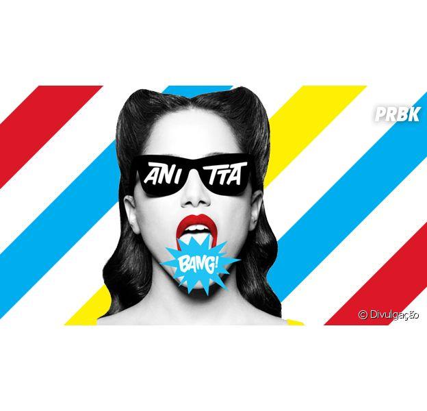 """Anitta no lançamento do seu mais novo CD, """"Bang"""""""