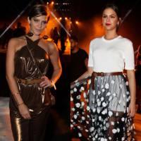 Isabella Santoni ou Bruna Marquezine? No Elle Fashion Preview, qual atriz arrasou mais no modelito?