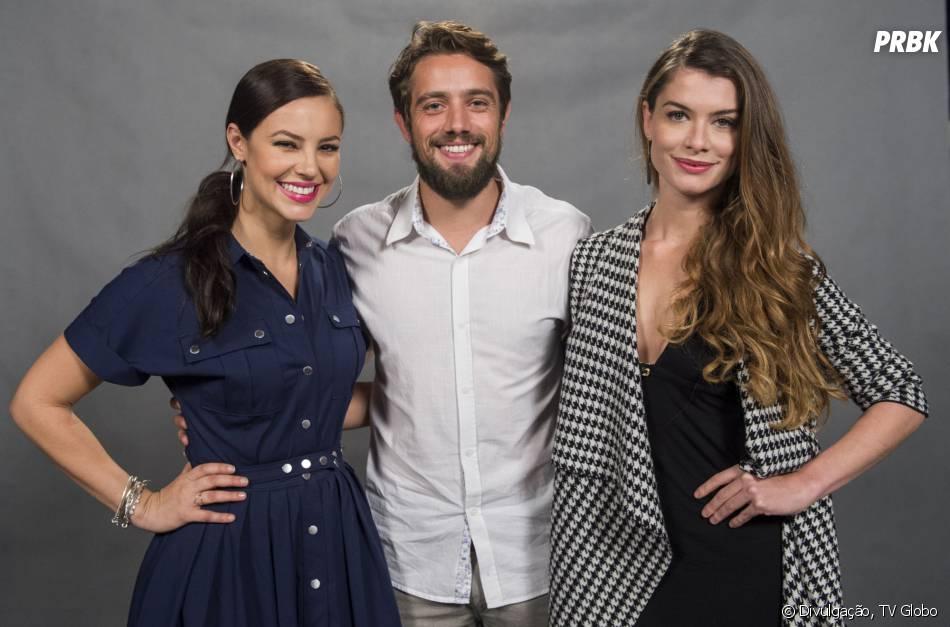 """Em """"Além do Tempo"""", Paolla Oliveira e Alinne Moraes disputam o amor de Rafael Cardoso"""