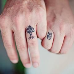 Veja 15 tatuagens de casal para você fazer com o seu amor!