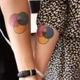 O amor é lindo que nem essas tatuagens