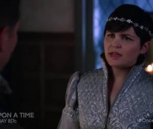 """Em """"Once Upon a Time"""": na 5ª temporada, Branca de Neve (Ginnifer Goodwin) e o Princípe Encantado (Josh Dallas)brigam feio!"""