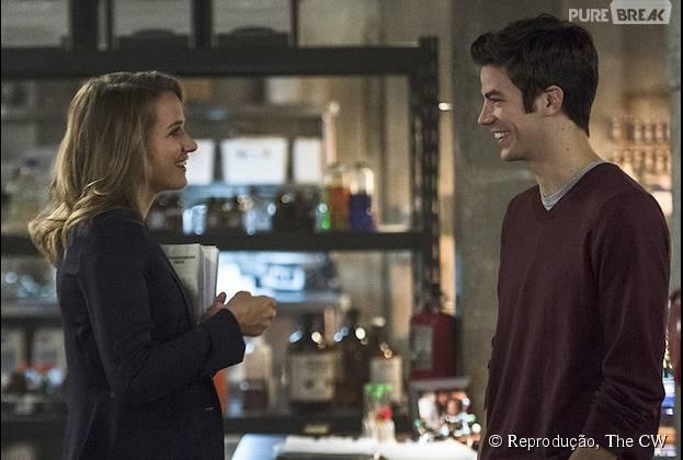"""Em """"The Flash"""": na segunda temporada, Patty Spivot (Shantel VanSanten) tem tudo a ver com Barry Allen (Grant Gustin)"""
