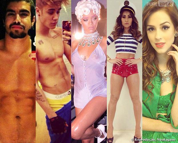 TOP 10: Confira os 10 famosos que você não pode deixar de seguir no Instagram