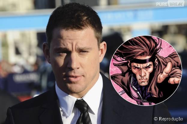 Channing Tatum é o escolhido para interpretar o Gambit nas telonas