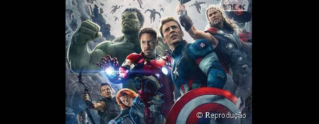 """O filme mais recente da franquia """"Os Vingadores"""" chegou aos cinemas em 2015"""