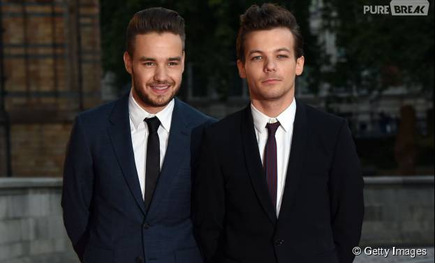 Liam Payne e Louis Tomlinson, do One Direction,
