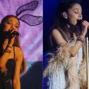 """Ariana Grande canta Justin Bieber, mostra prévia de """"Focus"""" e surpreende fãs brasileiros em show!"""