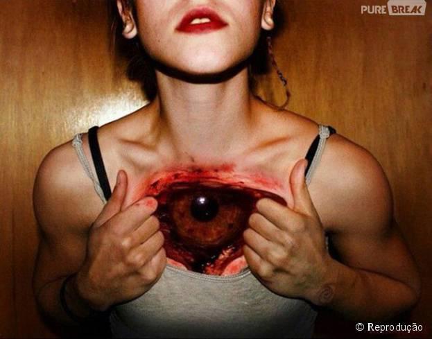 No Halloween, tatuagens de terror são uma maneira de assustar, que vão além das fantasias!
