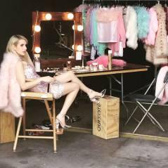"""Emma Roberts, de """"Scream Queens"""", revela detalhes dos bastidores da série no Instagram! Veja fotos"""