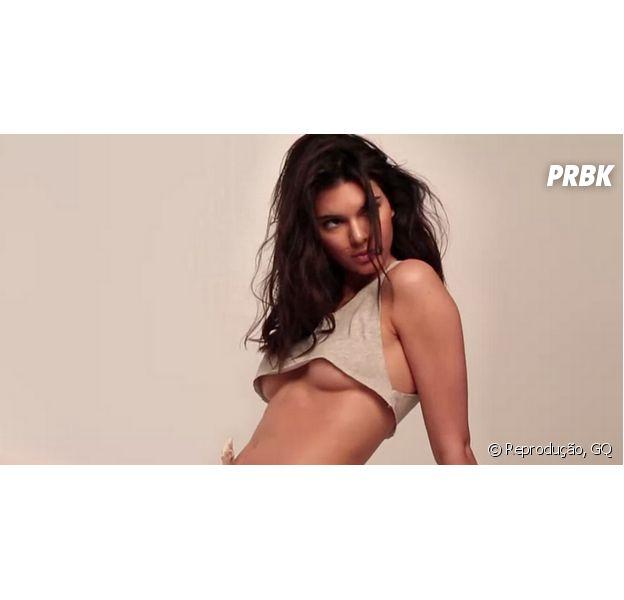 Veja Kendall Jenner e seu mamilo à mostra em foto postada pela modelo no Instagram