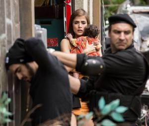 """Final """"I Love Paraisópolis"""": Grego (Caio Castro) foi preso na frente da Margot (Maria Casadevall)"""