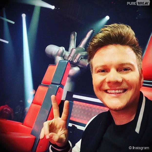 """Michel Teló, técnico do """"The Voice Brasil"""", enche seu Instagram de selfies engraçadas"""