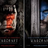 """Cartazes de """"Warcraft – O Primeiro Encontro de Dois Mundos"""" mostra líderes da Horda e da Aliança"""