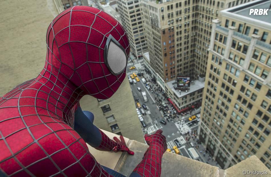 """Andrew Garfield interpretou o super-herói em """"O Espetacular Homem-Aranha"""""""