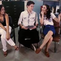 """Lívian Aragão, de """"Malhação"""", revela se Didi está preparado para o 1º beijo do casal Artulia!"""