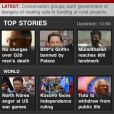As notícias da BBC News também está entre os aplicativos que mais atrapalham o seu celular