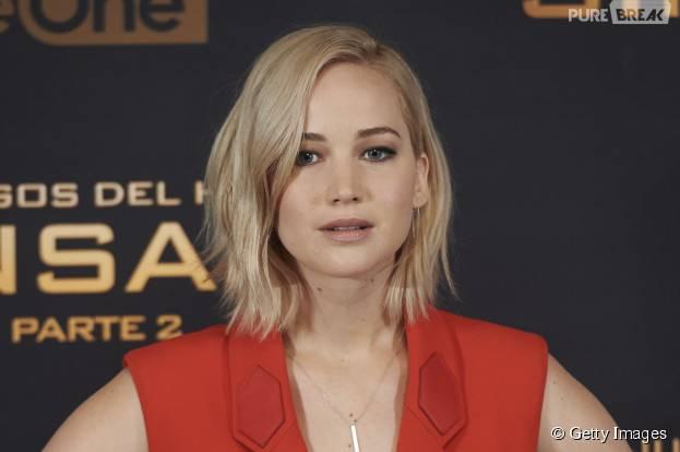 """Jennifer Lawrence, de """"Jogos Vorazes: A Esperança - O Final"""" é a atriz mais valiosa do cinema em 2015"""