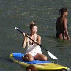 Grazi Massafera, Michel Teló e Taylor Swift; veja quem pratica stand up paddle