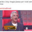 "No ""The Voice Brasil"": Lulu Santos também foi bastante zoado pelos internautas"