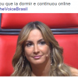 """No """"The Voice Brasil"""": Claudia Leitte é mais uma vez zoada pelos internautas!"""