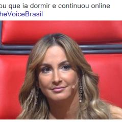 """No """"The Voice Brasil"""": Claudia Leitte erra feio e vira meme na internet! Veja os melhores"""