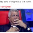 """No """"The Voice Brasil"""": Lulu Santos disse uma frase de Fernando Pessoa e deixou Claudia Leitte constrangida"""