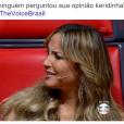 """No """"The Voice Brasil"""": Claudia Leitte andou faltando as aulas de Literatura no colégio"""