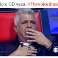 """No """"The Voice Brasil"""": Lulu Santos divertiu a galera na internet com suas expressões engraçadas"""