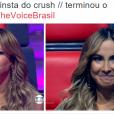"""No """"The Voice Brasil"""": Claudia Leitte fez caras e bocas na atração da Globo"""