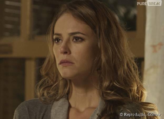 """Em """"Além do Tempo"""", Melissa (Paolla Oliveira) foge com o filho para o Rio de Janeiro e deixa Felipe (Rafael Cardoso) furioso"""