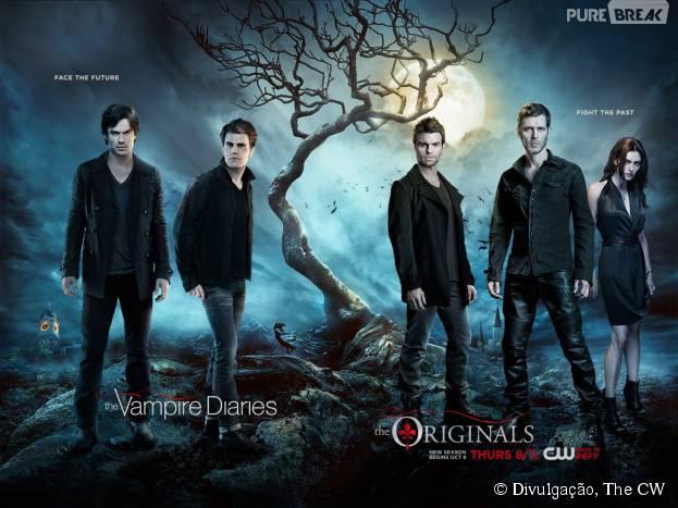 """Séries """"The Vampire Diaries"""" e """"The Originals"""" podem ser canceladas em 2016! Entenda!"""