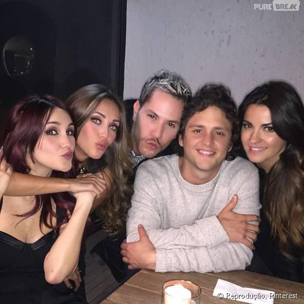 """O que falar desse jantar entre a turminha de """"Rebelde"""" e RBD?"""