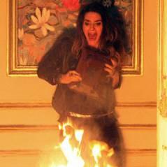 """Em """"Amor à Vida"""": Leila morre em incêndio e quase mata Natasha!"""