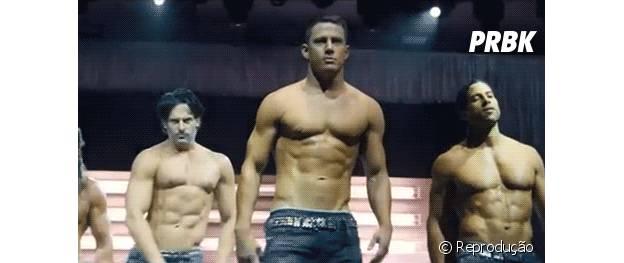 Channing Tatum diz que gosta de comer de tudo, mas mantém o corpo com exercícios