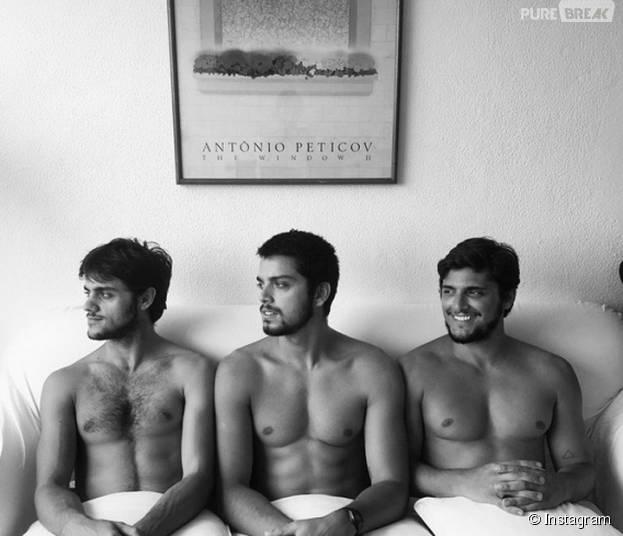 Rodrigo Simas revela sonho de atuar com os irmãos Bruno Gissoni e Felipe Simas nas telinhas