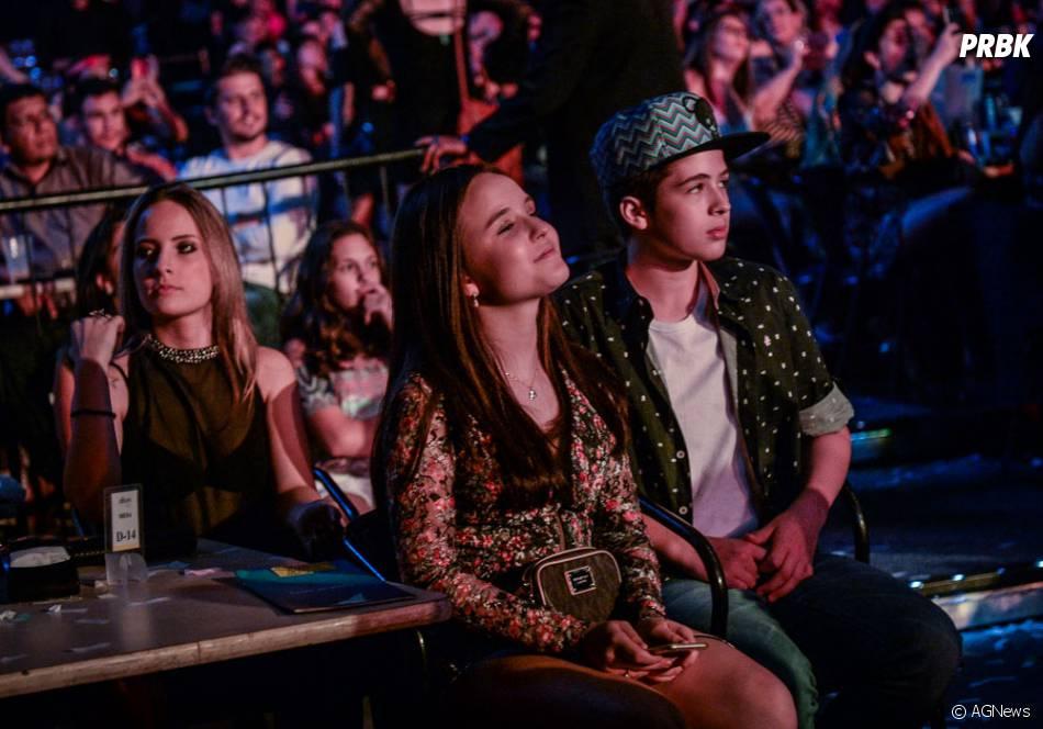 413502d6d70d6 Em show de Luan Santana, Larissa Manoela e João Guilherme Ávila se divertem  juntos! Mas, ambos negam que estejam namorado