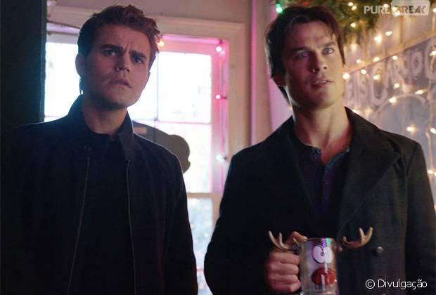 "Em ""The Vampire Diaries"", Stefan (Paul Wesley) e Damon (Ian Somerhalder) enfrentam novos desafios na midseason finale!"