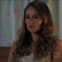 """Novela """"Além do Tempo"""": Melissa (Paolla Oliveira) ameaça afastar Alex de Felipe!"""