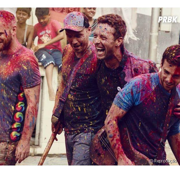 """O Coldplay vai trazer a turnê""""A Head Full Of Dreams Tour"""" para o Brasil em 2016"""