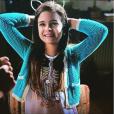 """Mel Maia fala que Felícia de """"Além do Tempo"""" está ficando ainda mais sapeca!"""