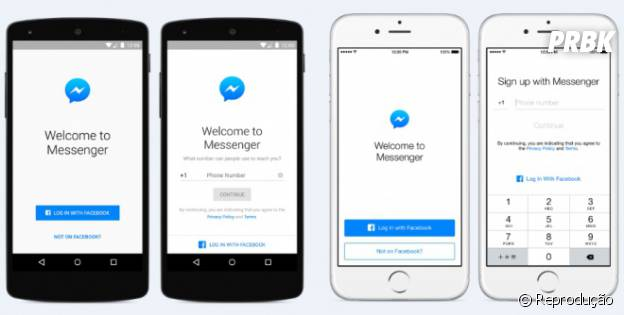 Sem Whatsapp? Use o Facebook Messenger!